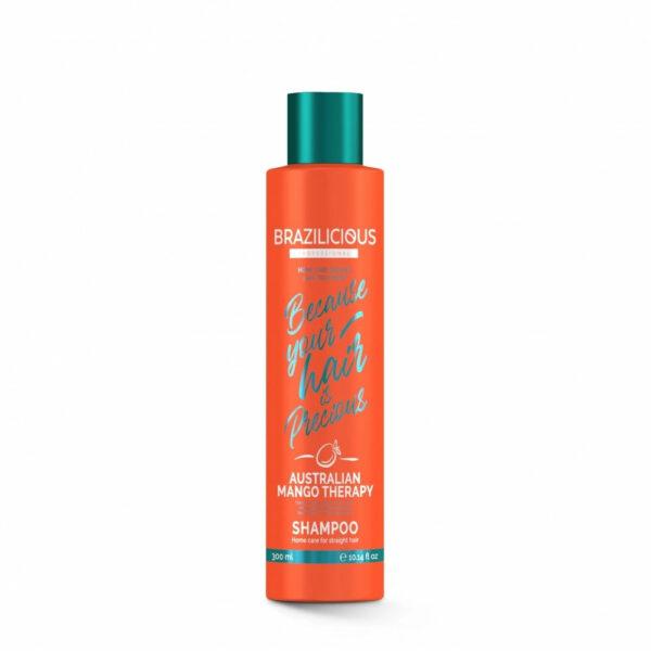 BraziliCious Australian Mango Therapy shampoo 300ml