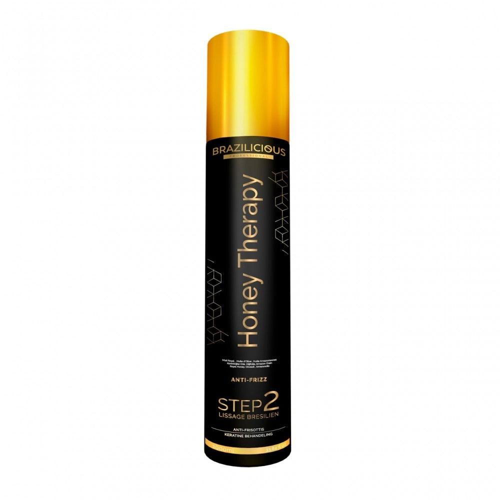 BraziliCious Keratine Honey Therapy Step 2 - 1000ml - brazilicious.nl